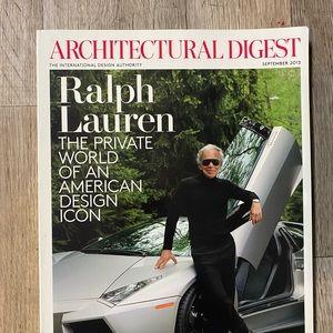 Architectural Digest Ralph Lauren Cover